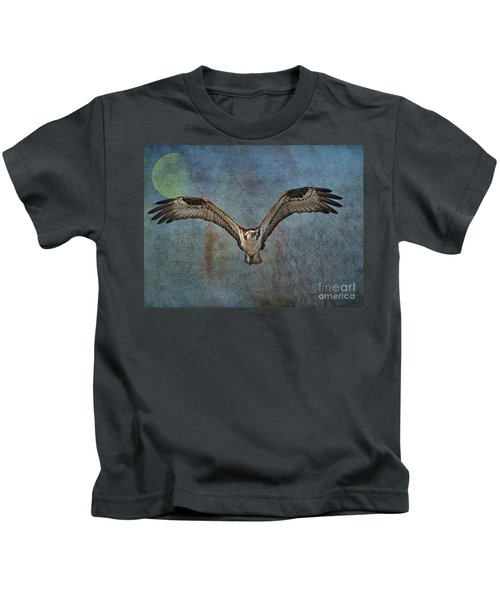 Whispering To The Moon Kids T-Shirt