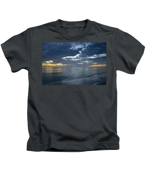 Whispers At Sunset Kids T-Shirt
