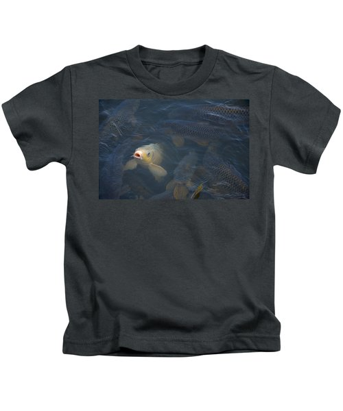 White Carp In The Lake Kids T-Shirt