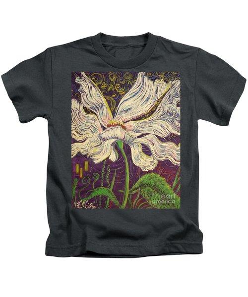 White Flower Series 6 Kids T-Shirt