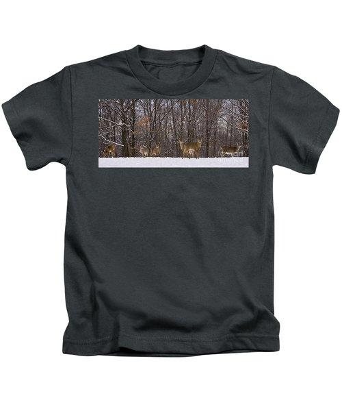 White Tailed Deer Kids T-Shirt