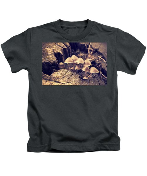 Wild Mushrooms Kids T-Shirt