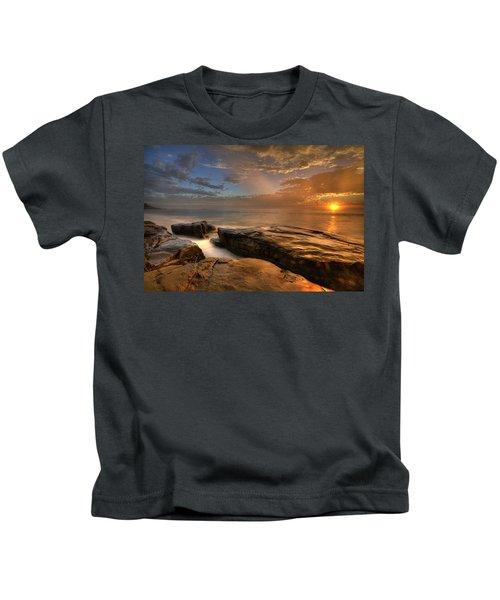 Windnsea Gold Kids T-Shirt