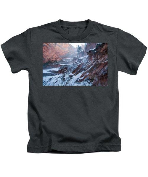 West Fork Windy Winter Kids T-Shirt