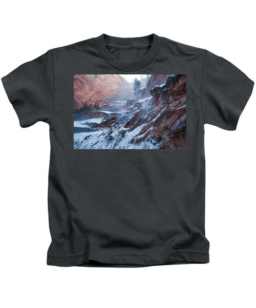 West Fork Windy Winter Kids T-Shirt