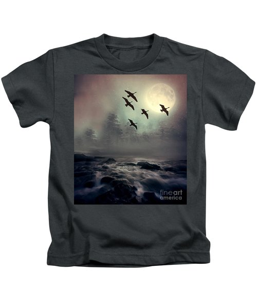 Winter Golden Hour Kids T-Shirt