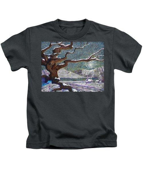 Winter's Day Kids T-Shirt