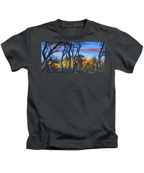 Wisconsin Creek Spooks Kids T-Shirt