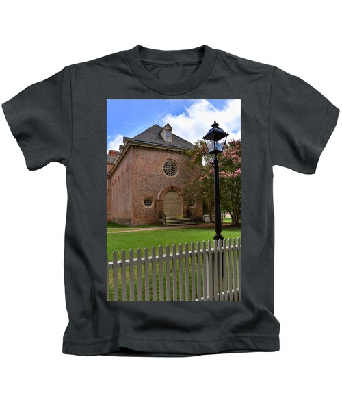 Wren Chapel At William And Mary Kids T-Shirt