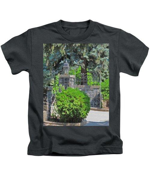 Wrought Iron Gate Kids T-Shirt