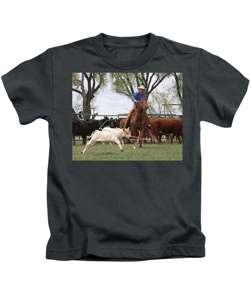 Wyoming Branding Kids T-Shirt
