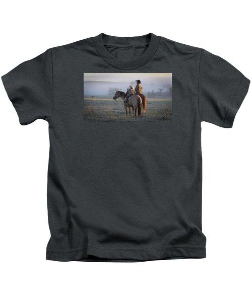 Wyoming Ranch Kids T-Shirt