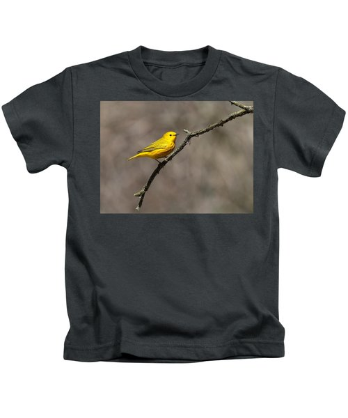 Yellow Warbler Kids T-Shirt