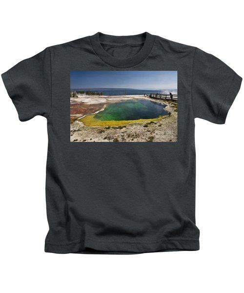 Yellowstone Lake Kids T-Shirt