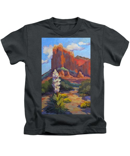 Yucca At Sedona Kids T-Shirt