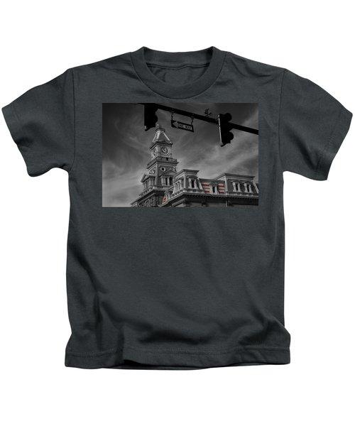Zanesville Oh Courthouse Kids T-Shirt