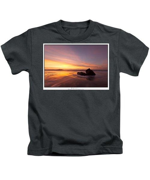 Atomic Sunset Kids T-Shirt