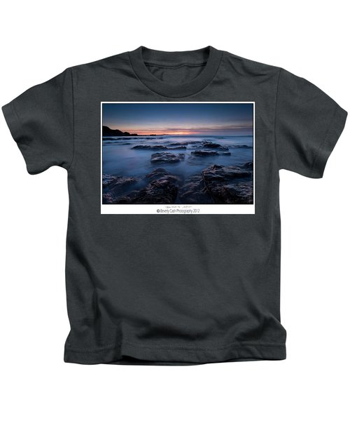 Blue Dusk Kids T-Shirt