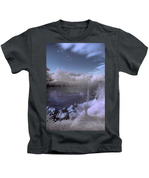 Infrared Pond Kids T-Shirt