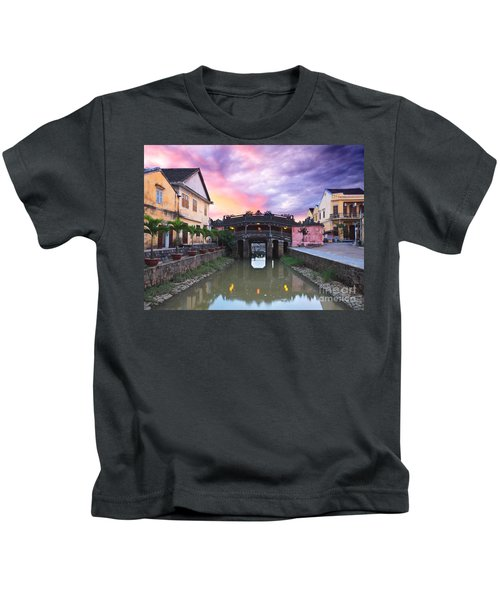 Japanese Bridge Kids T-Shirt