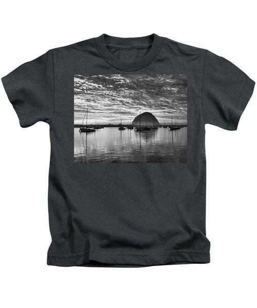 Morro Bay On Fire Kids T-Shirt