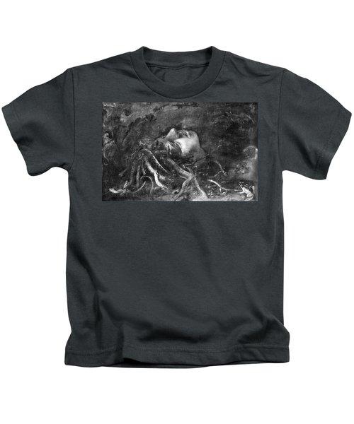 Mythology: Medusa Kids T-Shirt by Granger