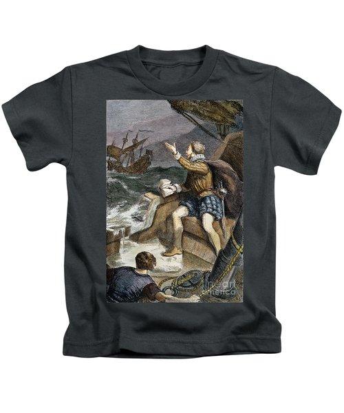 Sir Humphrey Gilbert Kids T-Shirt