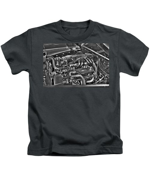 48 Chevy Block Kids T-Shirt
