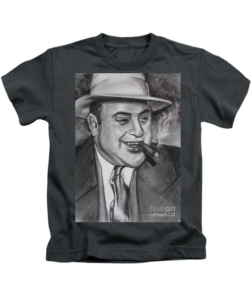 Al Capone 0g Scarface Kids T-Shirt