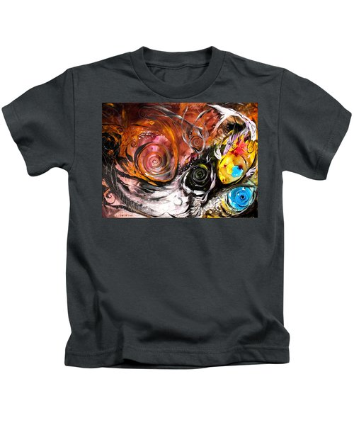 Anewed Antypityped Five Fish Kids T-Shirt