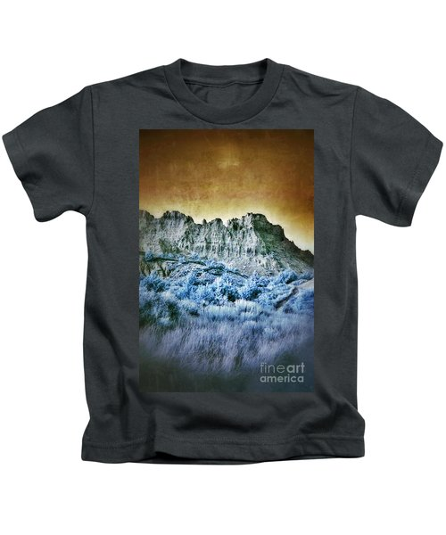 Badlands In Infrared Kids T-Shirt
