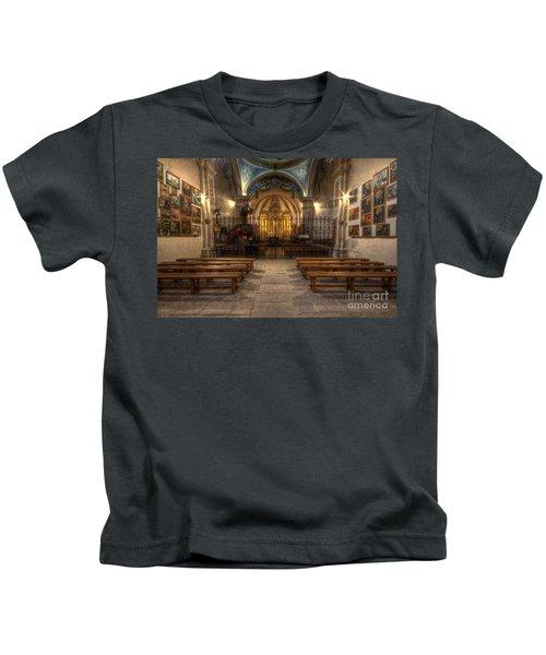 Baroque Church In Savoire France 4 Kids T-Shirt