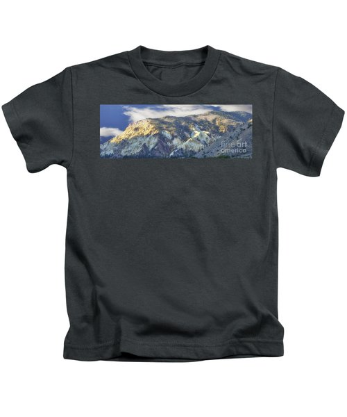 Big Rock Candy Mountains Kids T-Shirt