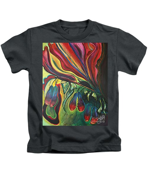 Blooming Expressions... Kids T-Shirt