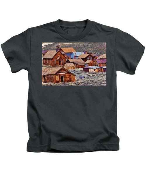 Bodie Ghost Town California Kids T-Shirt