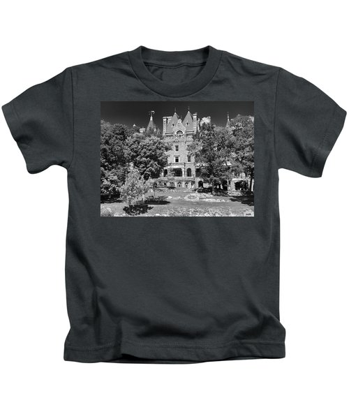 Boldt Castle 0152 Kids T-Shirt
