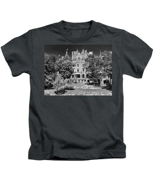 Boldt Castle 0152 Kids T-Shirt