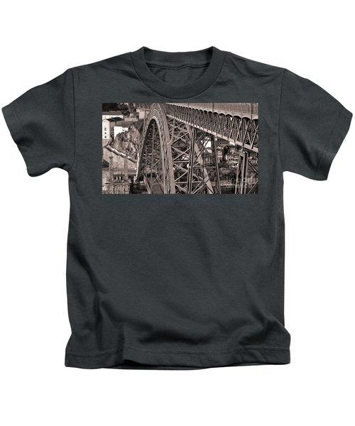 Bridge Construction Kids T-Shirt