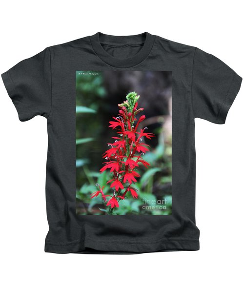Cardinal Flower Kids T-Shirt