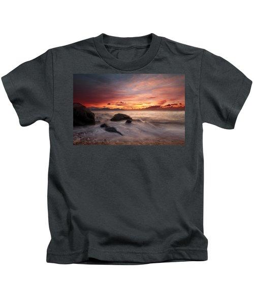 Celtic Sunset Kids T-Shirt