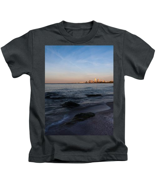 Cleveland From The Shadows Kids T-Shirt