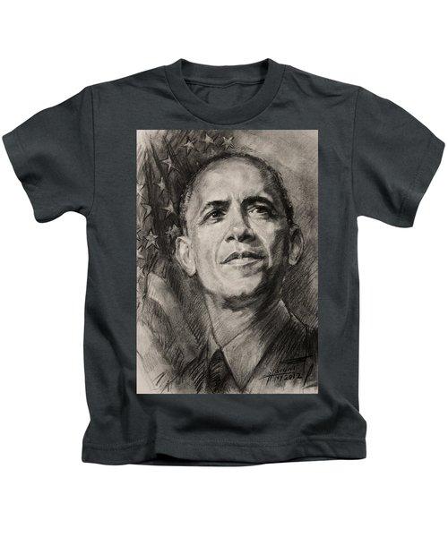 Commander-in-chief Kids T-Shirt by Ylli Haruni