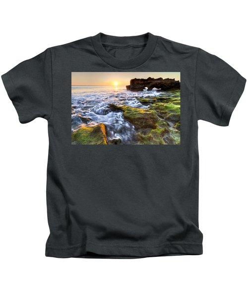 Coral Cascades Kids T-Shirt