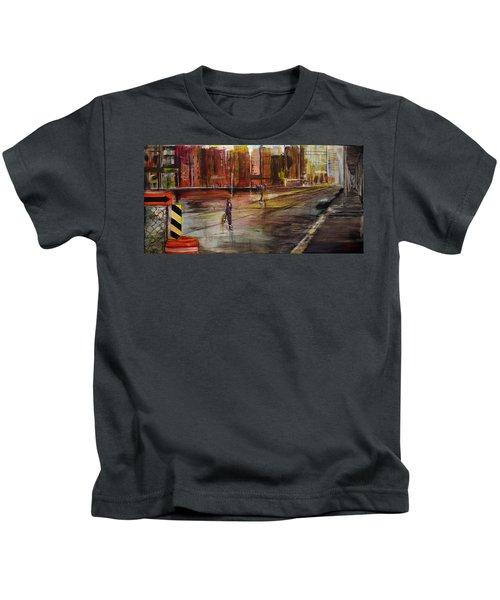 Early Sunday Morning Kids T-Shirt