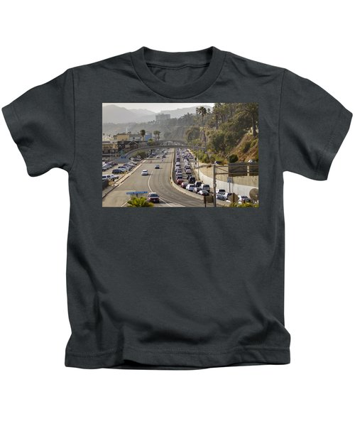 Evening Commute Kids T-Shirt