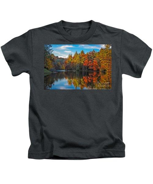 Fall Reflection Kids T-Shirt