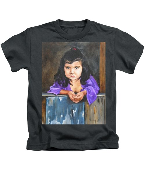 Girl From San Luis Kids T-Shirt