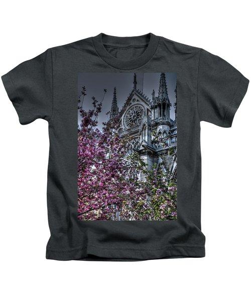 Gothic Paris Kids T-Shirt