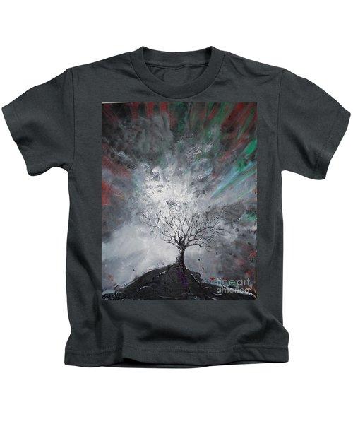 Haunted Tree Kids T-Shirt