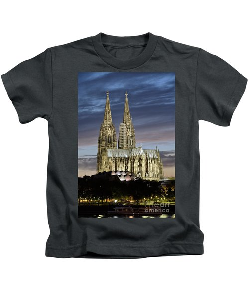 High Cathedral Of Sts. Peter And Mary In Cologne Kids T-Shirt
